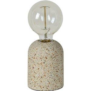Lampe de Table Wolseley de Notre Dame Design, 5,5 po, gris