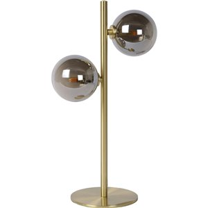 Lampe de Table Rice de Notre Dame Design, 17 po, laiton