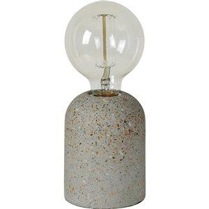 Lampe de Table Baso de Notre Dame Design, 5,5 po, brun