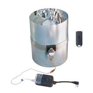 Columbia Variateur d'intensité pour tube de lumière rigide 10 po, compatible avic RST10
