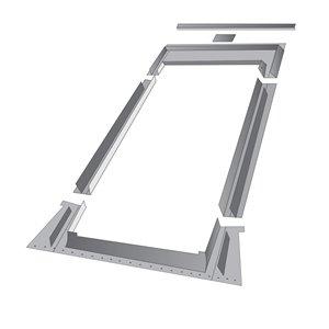 Solin à relief élevé EHN pour fenêtre de toit de Fakro, compatible avec modèle FTP/FPP10, 45,25po x 46,88po