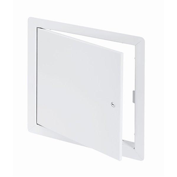 Panneau d'accès universel de Best Access Doors en métal, 10po x 10po, blanc