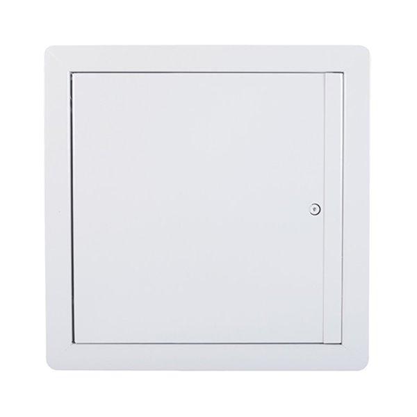 Panneau d'accès isolé coupe-feu avec ouverture vers le haut de Best Access Doors en métal, 30po x 22po, blanc
