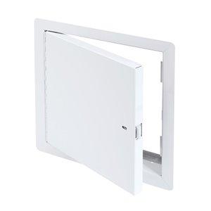 Panneau d'accès coupe-feu non isolé de Best Access Doors en métal, 10po x 10po, blanc