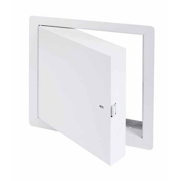 Panneau d'accès isolé, homologué contre le feu de Best Access Doors en métal, 12po x 12po, blanc