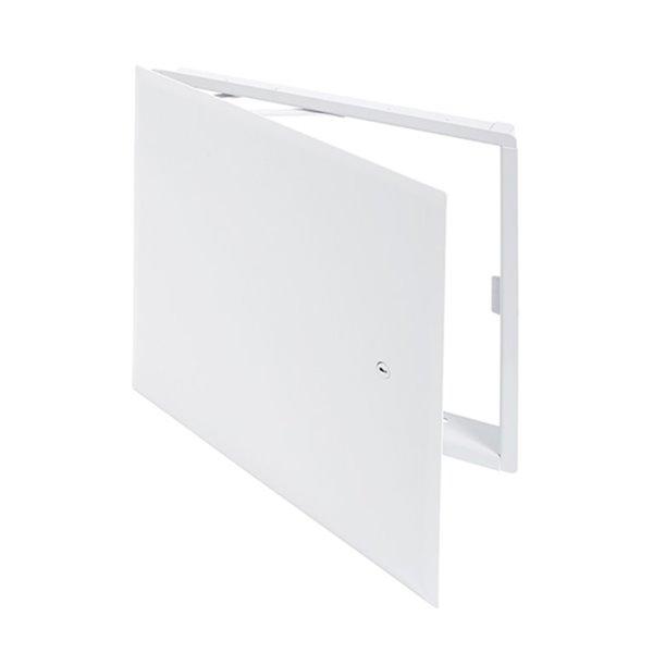 Panneau d'accès esthétique avec bride cachée de Best Access Doors, 14po x 14po, blanc