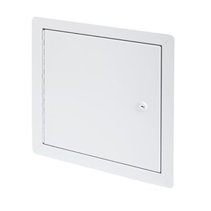 Panneau d'accès isolé en aluminium de Best Access Doors, 12po x 12po, blanc