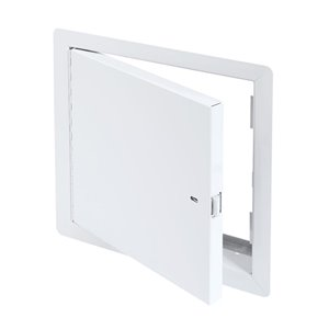 Panneau d'accès coupe-feu non isolé de Best Access Doors en métal, 12po x 12po, blanc