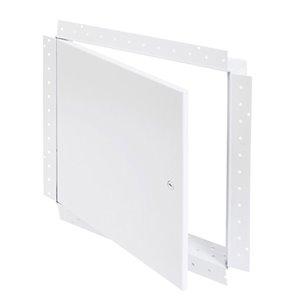 Panneau d'accès universel avec bride de boue de Best Access Doors, 18po x 18po, blanc