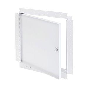Porte d'accès encastrée avec bride de boue de Best Access Doors, 24po x 24po, blanche