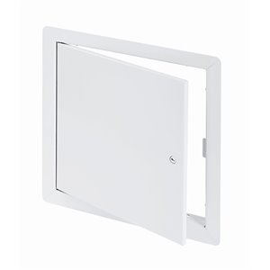 Panneau d'accès universel de Best Access Doors en métal, 8po x 8po, blanc