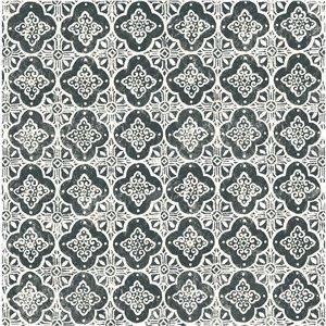 Papier peint non encollé et non tissé Seville Brewster Essentials d'Advantage, motif géométrique, 56,4 pi², noir