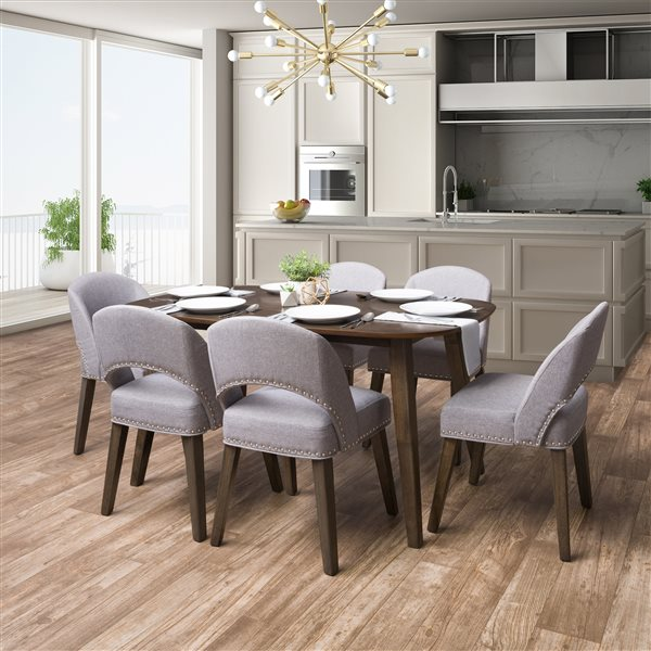 Rectangular Dining Table, Modern Contemporary Dining Room Set