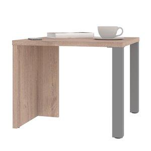 Table basse rectangulaire Lucida de Bestar, 19 po x 24 po, brun rustique