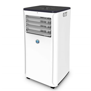 JHS 10000 Btu (Ashrae) 4-in-1 portable air conditioner with heating