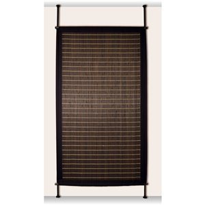 Panneau d'intimité Versailles Home Fashions, bambou, 38 po x 68 po, brun foncé