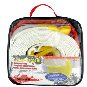 Erickson Recovery Strap with Carry Bag - 20 ft.