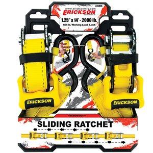 Erickson Sliding Ratchet - 2-Pack - 14 ft.