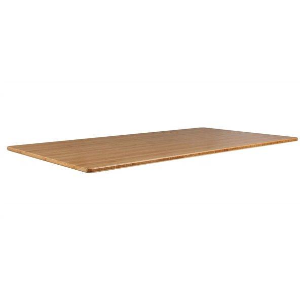 Bureau Bordeaux d'United Canada moderne contemporain ajustable, 60po, brun mat