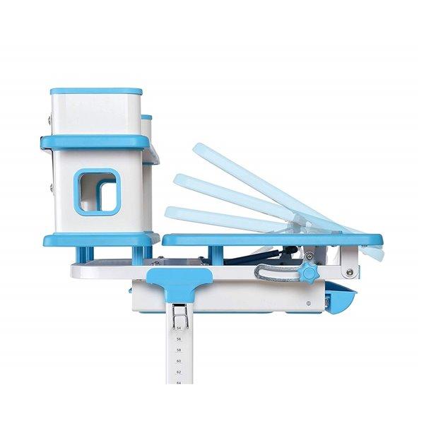 Bureau Armstrong d'United Canada moderne contemporain ajustable, 22po, bleu mat