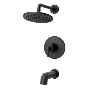 Robinetterie de bain et douche à 1 poignée Tenet de Pfister, noir mat