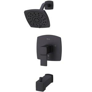 Robinetterie de bain et douche à 1 poignée Deckard de Pfister, noir mat
