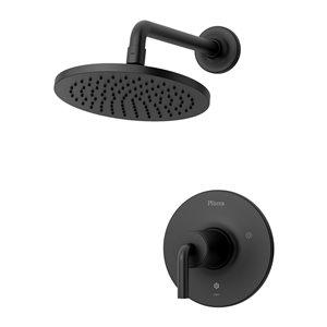 Robinetterie monocommande pour douche Tenet de Pfister, noir mat