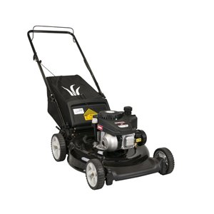 Yard Machines 140 cc 21-in Gas Push Lawn Mower PowerMore Engine with Blade Stop System