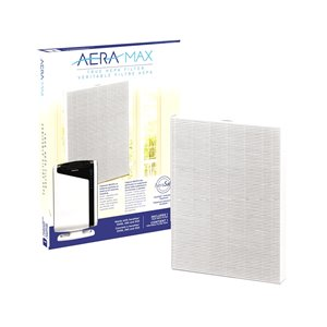 Filtre HEPA de rechange Aeramax 290/300/DX95 de Fellowes, grand, paquet de 1