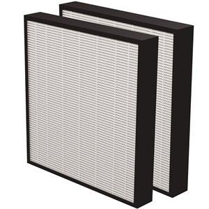 Filtre Aeramax Pro HEPA de Fellowes, 2 po, paquet de 2
