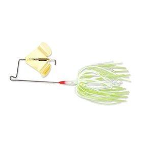 Leurre de pêche Super Stainless Buzzbait de Terminator, 0,5 oz, Chartreuse White