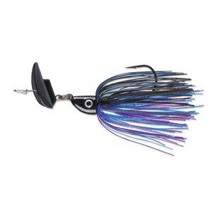 Leurre à pêche Spinnerbait de Terminator, Black Blue