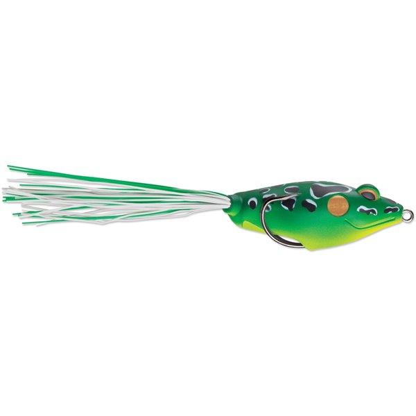 Leurre à pêche Walking Frog de Terminator, Green Leopard