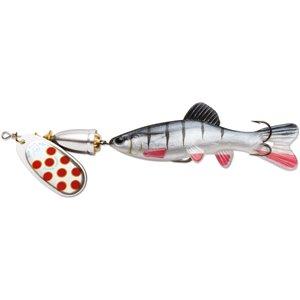 Leurre à pêche Vibrax Chaser de Blue Fox, lame 2, Silver