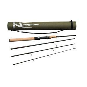 Canne à pêche Magnum Spinning de Rapala, puissance moyenne, 6 pi 6 po