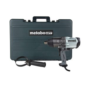 MetaboHPT9.4-Amp 120-Volt with Variable Speed Brushless 1-in Drive Impact Wrench