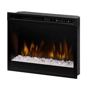 Dimplex Multi-Fire XHD Electric Fireplace Insert - 23-in - Black