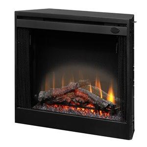 Dimplex Slim Line Electric Fireplace Insert - 33-in - Black
