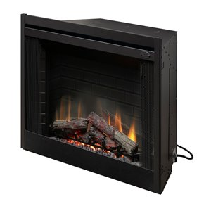 Dimplex Deluxe Electric Fireplace Insert - Black