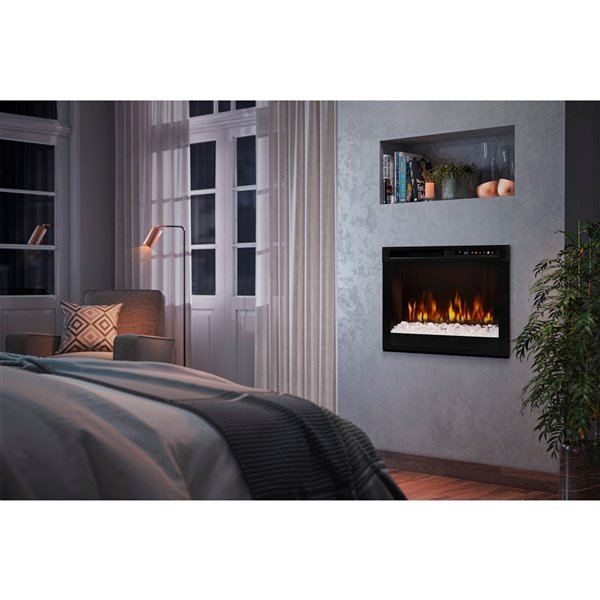 Dimplex Electric Fireplace Insert - 26-in - Black