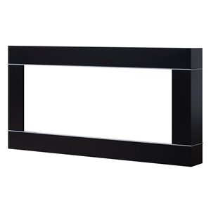 Garniture en plastique BLF par Dimplex, noir