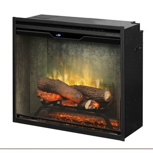 Dimplex Revillusion Electric Fireplace Insert - 24-in - Weathered Grey