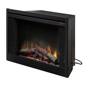Dimplex Electric Fireplace Insert - 45-in - Black