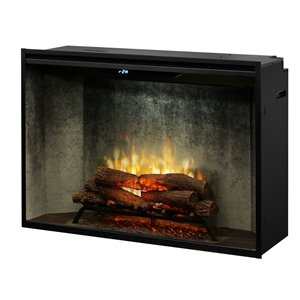 Dimplex Revillusion Electric Fireplace Insert - 42-in - Weathered Concrete