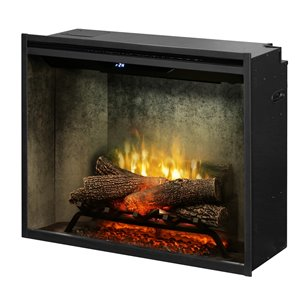 Dimplex Revillusion Electric Fireplace Insert - 30-in - Weathered Concrete