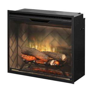 Dimplex Revillusion Electric Fireplace Insert - 24-in - Black