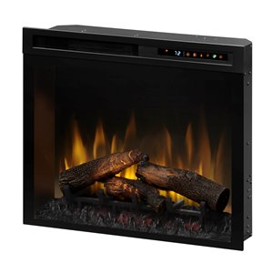 Dimplex Electric Fireplace Insert - 28-in - Black