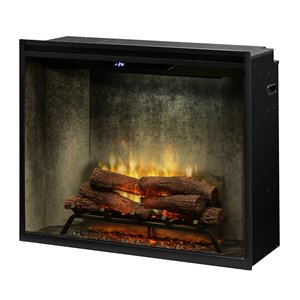 Dimplex Revillusion Electric Fireplace Insert - 36-in - Weathered Concrete