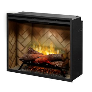 Dimplex Revillusion Electric Fireplace Insert - 30-in - Black