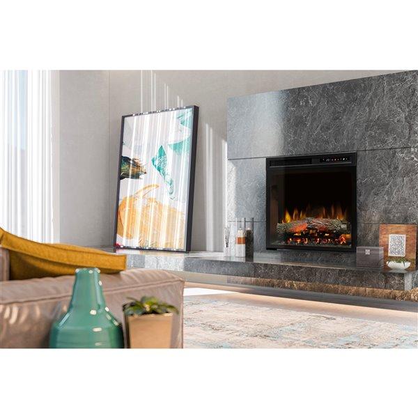 Dimplex Electric Fireplace Insert - 23-in - Black